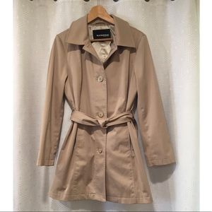 WEATHERPROOF | Classic Khaki Tan Belted Trench